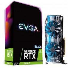 TARJETA DE VIDEO EVGA RTX 2080TI BLACK EDITION GAMING  11GB GDDR6