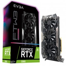 Tarjeta de Video EVGA GeForce RTX 2080 FTW3 ULTRA GAMING 8GB GDDR6 iCX2 & RGB LED