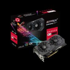 Tarjeta de Video Asus ROG STRIX RX 570 O4G Gaming OC GDDR5