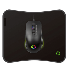 KIT GAMER MOUSE Y MOUSEPAD GAMEMAX MG7 RGB