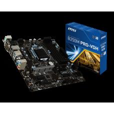 M/B MSI B250M PRO-VDH