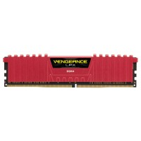 Memoria Corsair Vengeance LPX 8GB 2666 MHz DDR4 Red CL16