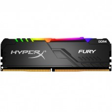 MEMORIA RAM KINGSTON HYPERX FURY RGB 2666MHz 8GB DDR4