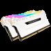 MEMORIA CORSAIR VENGEANCE RGB PRO 16GB (2 x 8GB) DDR4 WHITE