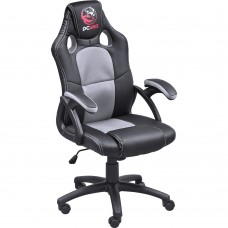 SILLA GAMER PCYES MAD RACER V6 BLACK GREY