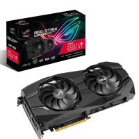 TARJETA DE VIDEO ASUS ROG STRIX RX 5500 XT OC 8GB DDR6