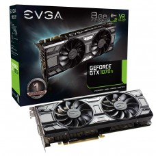 Tarjeta de Video EVGA GeForce GTX 1070Ti SC GAMING