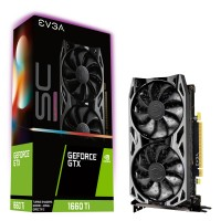 TARJETA DE VIDEO EVGA GEFORCE GTX 1660TI SC ULTRA GAMING 6GB GDDR5