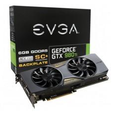 TARJETA DE VIDEO EVGA GTX 980TI SC+ BACKPLATE 6GB DDR5