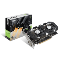 TARJETA DE VIDEO MSI GTX 1050TI OC DUAL FAN 4GB DDR5