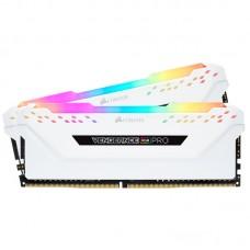 KIT MEMORIA RAM CORSAIR VENGEANCE RGB PRO 16GB DDR4 3000MHZ (2x8GB) CL15 Blanco