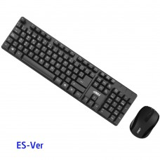 Combo Teclado y Mouse Air Max AM-KMCM01-ES