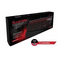 Teclado Gamer Kingston HyperX Alloy Elite Cherry MX Red  (Español)