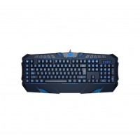 TECLADO AULA DZI SI-862 LED GAMER